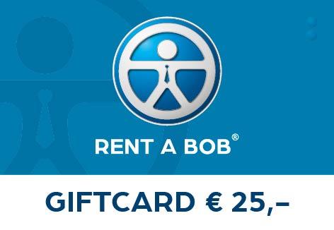 Rent A Bob gift card